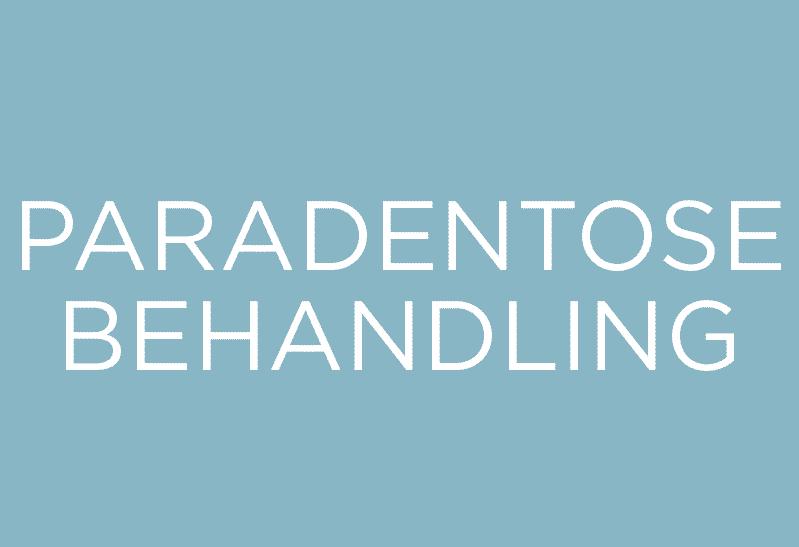 Behandling af paradentose